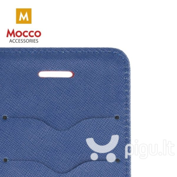 Mocco Fancy Book Case For Xiaomi Redmi Note 5 Pro Red - Blue