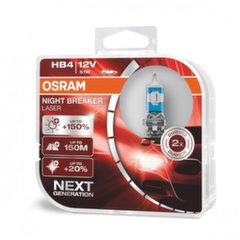 Автомобильные лампочки OSRAM Night Breaker Laser (Next Generation) HB4, 51W
