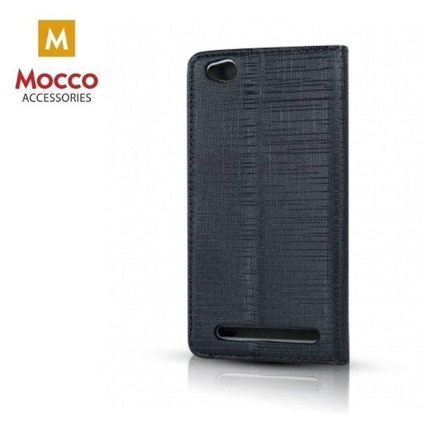 Atverčiamas dėklas Mocco Jeans telefonui Samsung A6 Plus/ A9, juodas kaina