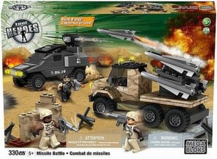 Konstruktorius Mega Bloks® True Heroes Karinė Bazė, 330 d. kaina ir informacija | Konstruktorius Mega Bloks® True Heroes Karinė Bazė, 330 d. | pigu.lt