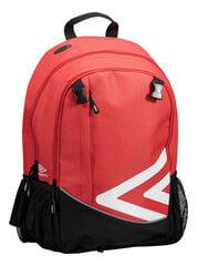 Sportinė kuprinė Umbro Diamond, 25 l, raudona kaina ir informacija | Kuprinės ir krepšiai | pigu.lt