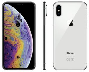 Apple iPhone XS, 64 GB, Sidabrinė