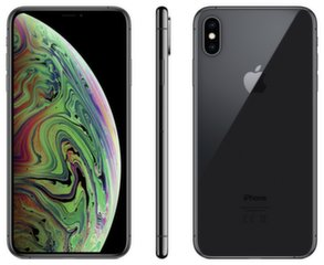 Apple iPhone XS Max, 64 GB, Pilka