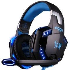 Kotion Each G2000, Mėlyna kaina ir informacija | Ausinės, mikrofonai | pigu.lt