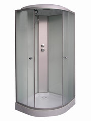 Prekė su pažeista pakuote. Ketursienė dušo kabina Euroliux SO44-6, balta kaina ir informacija | Santechnikos prekės pažeistomis pakuotėmis | pigu.lt