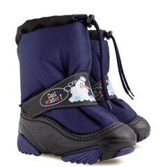 Žieminiai batai su natūralia vilna Demar, Snowmen c 4010, mėlyni kaina ir informacija | Avalynė vaikams | pigu.lt