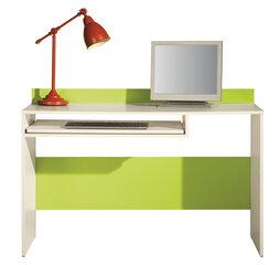 Rašomasis stalas Labirynt 19, kreminis/žalias