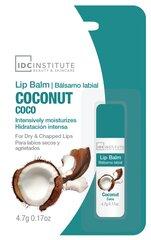 Intensyviai drėkinantis lūpų balzamas IDC Institute Lip Balm Coconut 4.7 g kaina ir informacija | Intensyviai drėkinantis lūpų balzamas IDC Institute Lip Balm Coconut 4.7 g | pigu.lt