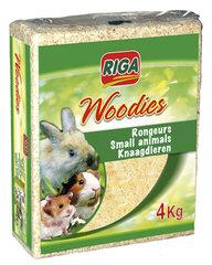 Riga Woodies medžio drožlių kraikas, 4 kg