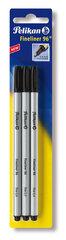 Rašiklių rinkinys Pelikan, Fineliner 96, 3vnt, juodi цена и информация | Письменные принадлежности | pigu.lt
