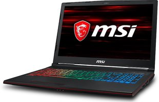 MSI GP63 8RE-060XPL 32 GB RAM/ 256 GB M.2 PCIe/ 128 GB SSD/ Win10P
