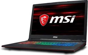 MSI GP73 8RE-057XPL 16 GB RAM/ 480 GB M.2 PCIe/ 1TB HDD/ kaina ir informacija | Nešiojami kompiuteriai | pigu.lt