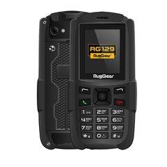 RugGear RG129, Dual SIM, Black kaina ir informacija   Mobilieji telefonai   pigu.lt
