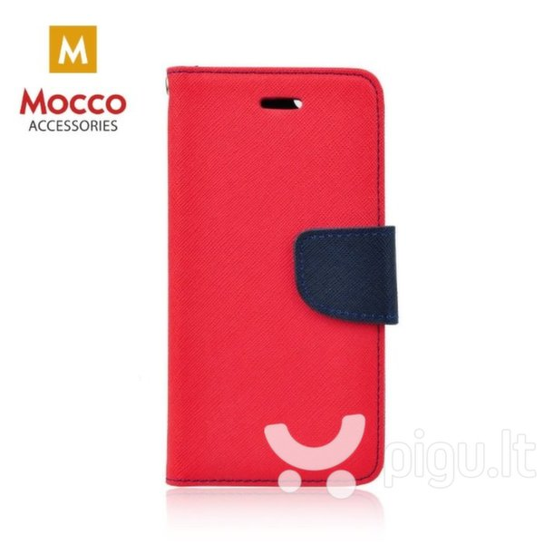 Mocco Fancy Book Case For Nokia 6.1 / Nokia 6 (2018) Sarkans - Blue