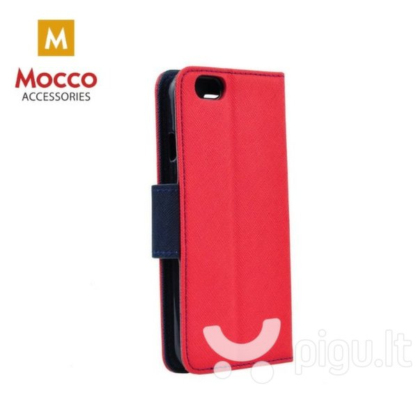 Mocco Fancy Book Case For Nokia 6.1 / Nokia 6 (2018) Sarkans - Blue kaina