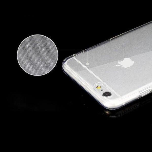Ultra Clear 0.5mm Case Gel TPU dėklas telefonuiSamsung Galaxy S9 Plus G965 permatomas