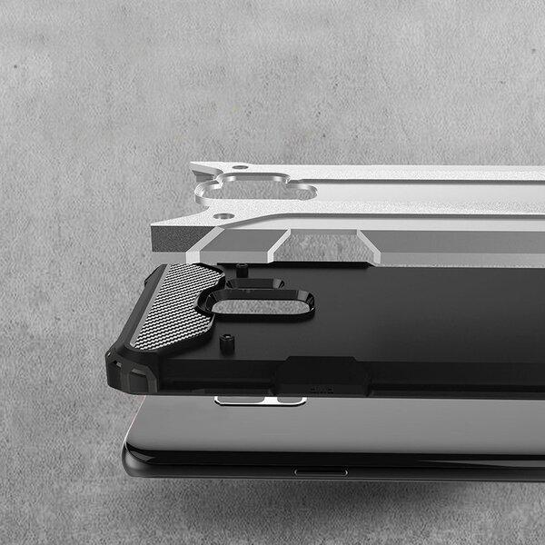Hybrid Armor dėklas telefonui Samsung Galaxy S9 G960 juodas internetu