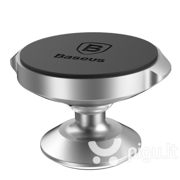 Baseus Small Ears Series Universal Magnetic Car Mount Holder for Car Dashboard silver (Silver) internetu