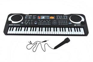 Didelis pianinas su mikrofonu Keyboard Bandstand kaina ir informacija | Lavinamieji žaislai | pigu.lt