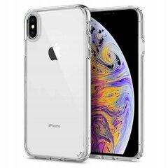Spigen, для Apple iPhone XS MAX, Прозрачный