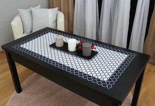 Servetėlė Maroko 50 x 100 cm, juoda kaina ir informacija | Staltiesės, virtuviniai rankšluosčiai | pigu.lt