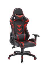 Žaidimų kėdė King, juoda/raudona kaina ir informacija | Biuro kėdės | pigu.lt