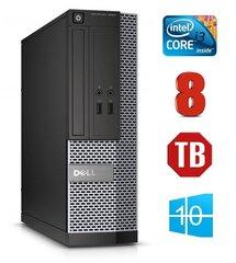 Dell 3020 SFF i3-4130 8GB 1TB DVDRW WIN10Pro kaina ir informacija | Stacionarūs kompiuteriai | pigu.lt
