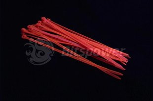 BitsPower Cable ties 120mm 20 pcs UV Red (BP-UVCT-2)