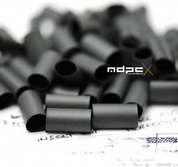 MDPC-X Shrinkable hoses for cables with a factor of 4: 1, 50 pcs, Black (HS-PC-BK)