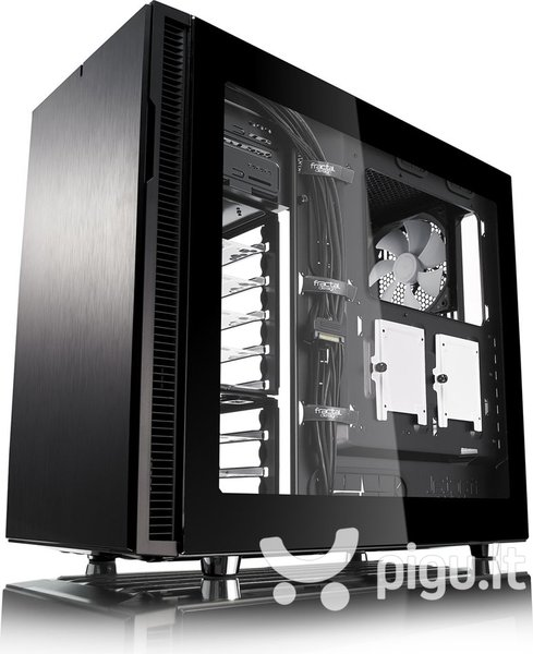 Fractal Design Side Panel for Define R5 Tempered (FD-ACC-WND-DEF-R5-BK-TGL) atsiliepimas