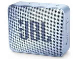 JBL GO 2, Šviesiai mėlyna kaina ir informacija | Garso kolonėlės | pigu.lt