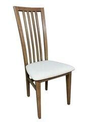 2-jų kėdžių komplektas Link, baltas/rudas