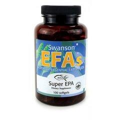 Maisto papildas Swanson Linų sėmenų aliejus 1000 mg., 100 kaps. kaina ir informacija | Vitaminai ir maisto papildai gerai savijautai | pigu.lt