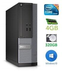 Dell 3020 SFF i3-4130 4GB 320GB DVDRW WIN10Pro kaina ir informacija | Dell 3020 SFF i3-4130 4GB 320GB DVDRW WIN10Pro | pigu.lt