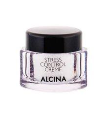 Saugantis nuo kenksmingų išorinių veiksnių veido kremas Alcina Stress Control Creme 50 ml kaina ir informacija | Veido kremai | pigu.lt