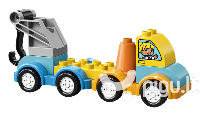 10883 LEGO® DUPLO Mano pirmasis pagalbos kelyje automobilis kaina