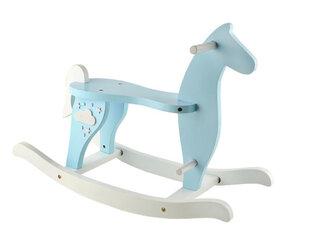 Деревянная лошадка-качалка Brimarex, синяя