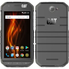 CAT S31, Dual SIM, Juoda + Dovana CAT IP65 Power Bank