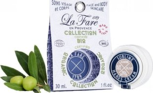 Drėkinamasis rankų kremasLa Fare 1789Almond & Shea Butter & Olive & Aloe Vera 30 ml
