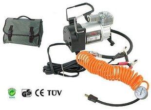 Автомобильный воздушный компрессор  12В 10 бар с чехлом цена и информация | Автопринадлежности | pigu.lt