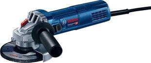 Elektrinis kampinis šlifuoklis Bosch GWS 9-125 900W 125mm kaina ir informacija | Šlifuokliai | pigu.lt
