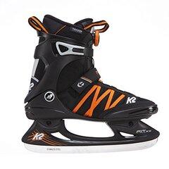 Pačiūžos K2 Skate F.I.T. Ice BOA, juodos/oranžinės