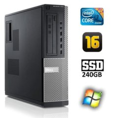 Dell 7010 DT i3-3220 16GB 240SSD Windows 7 Pro kaina ir informacija | Dell 7010 DT i3-3220 16GB 240SSD Windows 7 Pro | pigu.lt