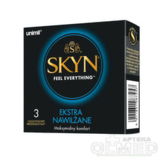 Prezervatyvai Unimil Skyn Feel Everything Ekstra, 3 vnt.
