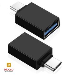 Mocco Universalus OTG Adapteris Type-C to USB 3.0 Connection, Juoda kaina ir informacija | Mocco Universalus OTG Adapteris Type-C to USB 3.0 Connection, Juoda | pigu.lt