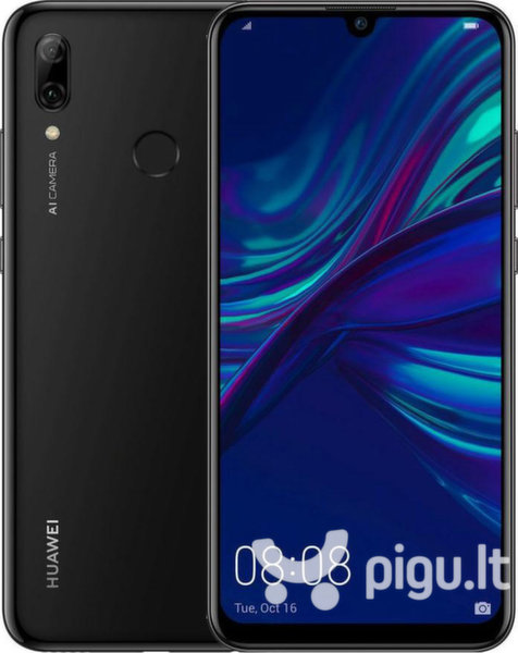 Huawei P Smart 2019, Dual SIM, 64 GB, Midnight Black