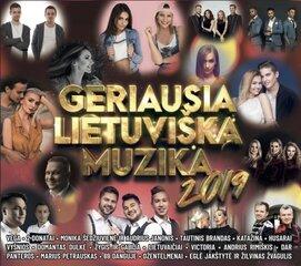 CD GERIAUSIA LIETUVIŠKA MUZIKA 2019