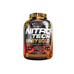 Baltymų išrūgos MuscleTech Nitro Tech 100% Whey Gold, 2.5 kg kaina ir informacija | Maisto papildai | pigu.lt