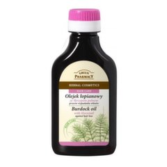 Varnalėšų aliejus su dirviniu asiūkliu nuo plaukų slinkimo 100 ml Green Pharmacy 100 ml