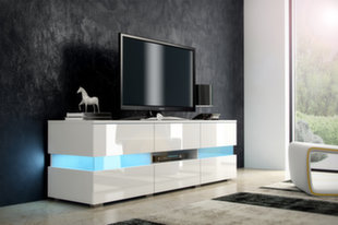 RTV столик Inter, белый